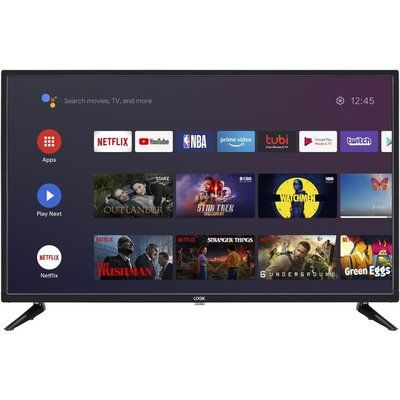 """Logik 32"""" L32AHE19 Android TV Smart HD Ready LED TV with Google Assistant"""