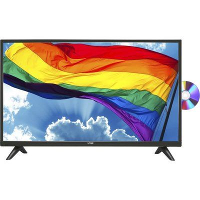 """Logik 32"""" L32HED20 LED TV with Built-in DVD Player"""