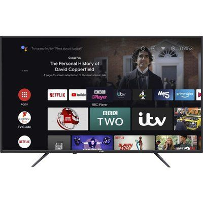 """Logik 50"""" L50AUE21 Android TV Smart 4K Ultra HD HDR LED TV with Google Assistant"""