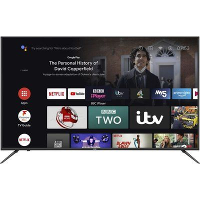 """Logik 58"""" L58AUE21 Android TV  Smart 4K Ultra HD HDR LED TV with Google Assistant"""