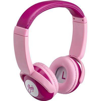 Goji GKIDBTP18 Wireless Bluetooth Kids Headphones - Pink