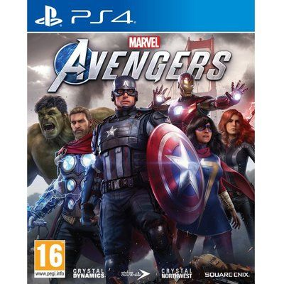Ps4 Marvels Avengers