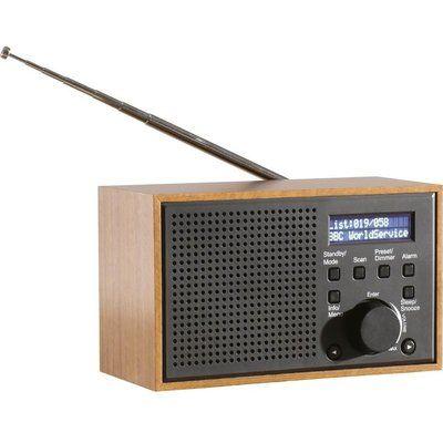 Daewoo AVS1322 Portable DAB Retro Radio - Grey