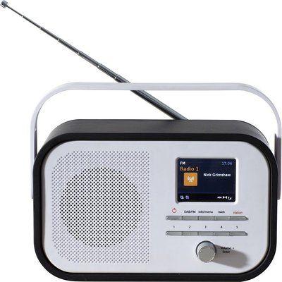 Daewoo AVS1403 Portable DAB Radio - Black & White