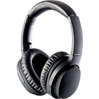 Daewoo AVS1459 Wireless Bluetooth Noise-Cancelling Headphones - Black