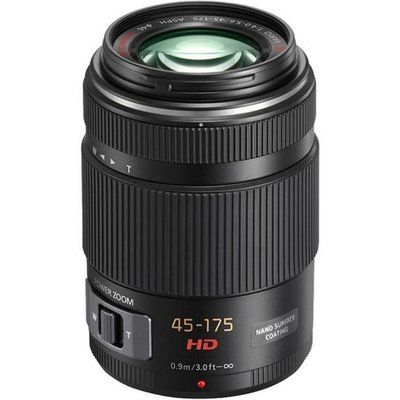 Panasonic H-PS45175E Lumix GX VARIO PZ 45-175 mm f/4.0-5.6 IF ASPH Telephoto Zoom Lens
