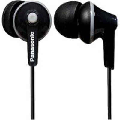 Panasonic RP-HJE125E-K Ergo In Ear Headphones