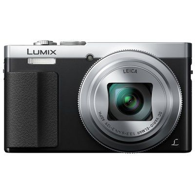 Panasonic Lumix DMC-TZ70EB-S Superzoom Compact Camera - Silver