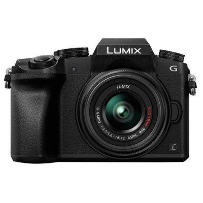 Panasonic Lumix DMC-G7EB-K Compact System Camera with Lumix G VARIO 14-42 mm f/3.5-5.6 II ASPH MEGA OIS Zoom Lens