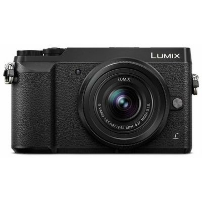 Panasonic DMC-GX80EB-K Compact System Camera - Black, Body Only