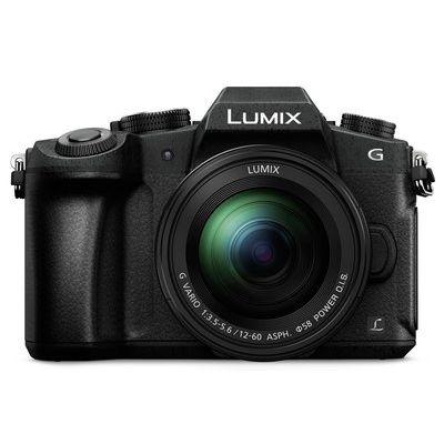 Panasonic Lumix DMC-G80 Mirrorless Camera with 12-60 mm f/3.5-5.6 Lens - Black