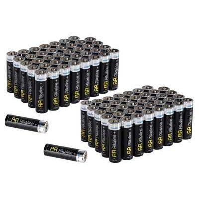 Maplin Extra Long Life High Performance Alkaline AA Batteries - Pack of 80 (2 x 40)