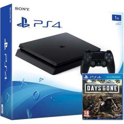 Sony PlayStation 4 1TB Console with Days Gone Bundle - Jet Black