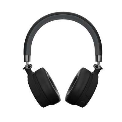 KitSound Accent 60 Wireless Bluetooth Headphones - Black