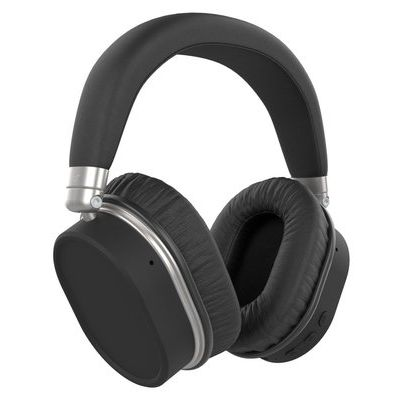 KitSound Immerse 75 Wireless Headphones with Active Noise Cancelling - Black