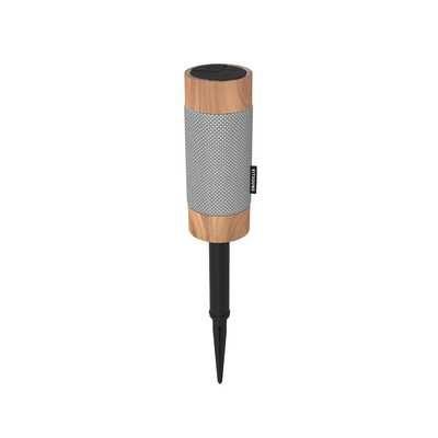 Kitsound Diggit Portable Bluetooth Speaker - Wood, Sand