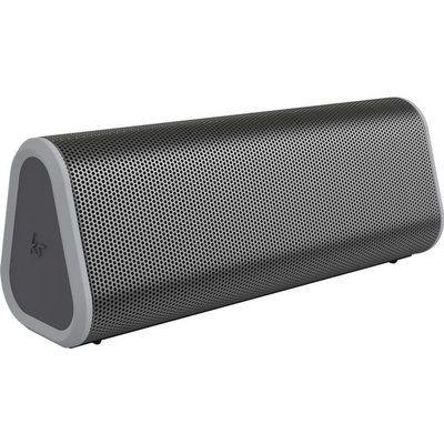 Kitsound BoomBar 50 Portable Bluetooth Speaker - Grey