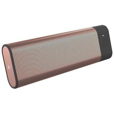 Kitsound BoomBar Portable Bluetooth Speaker - Rose Gold