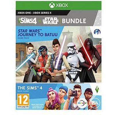 Microsoft Xbox One SIMS 4 Plus Star Wars: Journey to Batuu Bundle