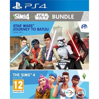 Sony PlayStation 4 SIMS 4 Plus Star Wars: Journey to Batuu Bundle