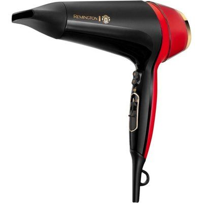Remington Thermacare Pro 2400 Manchester United Edition Hair Dryer - Black & Red