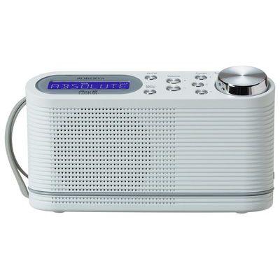 Roberts PLAY 10 Portable DAB Radio - White