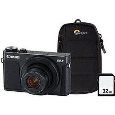 Canon PowerShot G9X MK II High Performance Compact Camera - Black