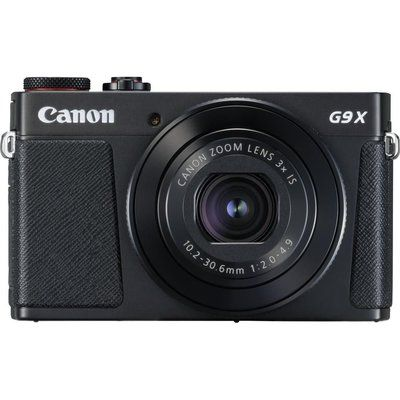 Canon PowerShot G9X MK II Compact Camera with 32 GB SD Card & Case - Black