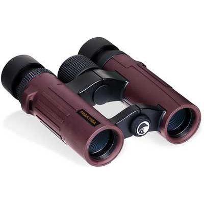 PRAKTICA Pioneer 10x26 Binoculars - Red