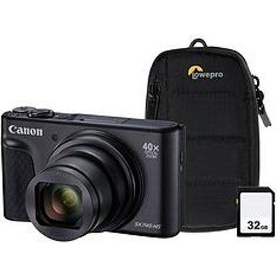 Canon PowerShot SX740 HS Superzoom Compact Camera - Black