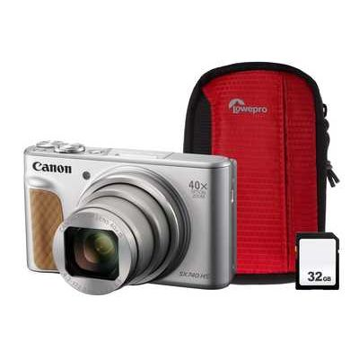 Canon PowerShot SX740 HS Superzoom Compact Camera - Silver
