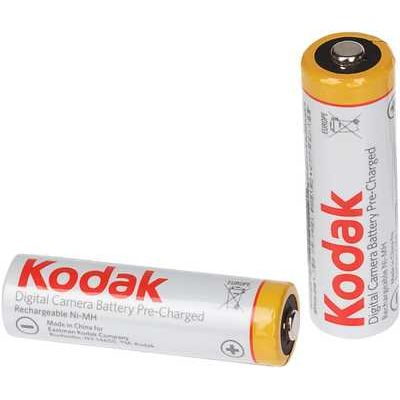 Kodak Rechargeable Ni-MH AA Batteries - Pack of 2