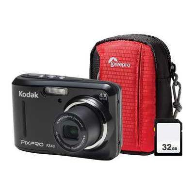 Kodak PIXPRO FZ43 Camera Kit inc Case & 32GB Memory Card