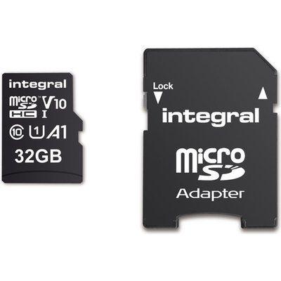 Integral 32GB High Speed V10 UHS-I U1 MicroSDHC Card