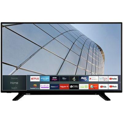 """Toshiba 43"""" 43UL2163DBC Smart 4K UHD HDR LED Freeview TV"""