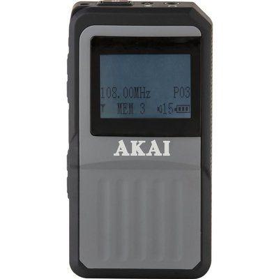 Akai A61027 DAB Portable Radio - Black