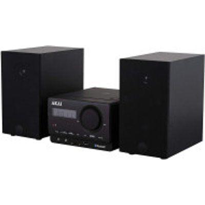 Akai A61039 Bluetooth Micro Hi-Fi System - Black