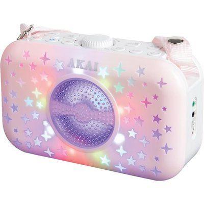 Akai A58102 Portable Bluetooth Speaker - Pink
