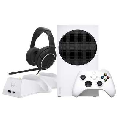 Microsoft Xbox Series S 512GB All-Digital Console with Venom Twin Docking Station and Nighthawk Gaming Headset