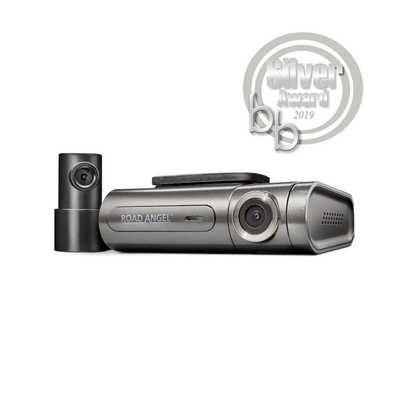 Road Angel Halo Pro Quad HD Dash Cam - Black & Grey
