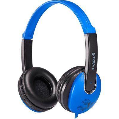 Groov-E KIDZ GV-590-BB Kids Headphones - Blue & Black