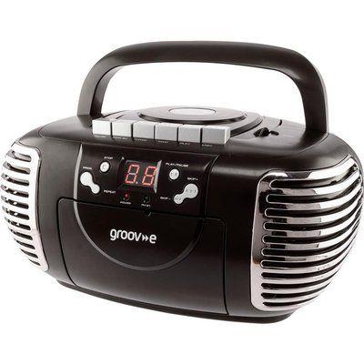 Groov-E Retro GV-PS813 Boombox - Black
