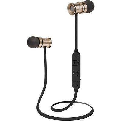 Groov-E Boom Buds Wireless Bluetooth Earphones - Gold