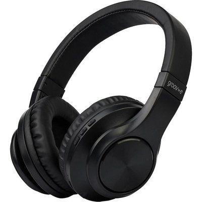 Groov-E Rhythm GV-BT550 Wireless Bluetooth Headphones - Black