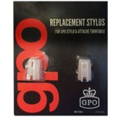 Attache Stylus 2 Pack for GPO Attache & Stylo Turntables