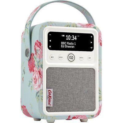 Vq Monty Portable DAB Bluetooth Radio - Cath Kidston Antique Rose