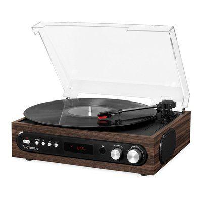 Victrola VTA-65 All-in-1 Turntable - Black