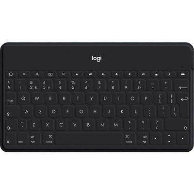Logitech Keys-To-Go Wireless iPad Tablet Keyboard - Black