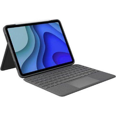 "Logitech Touch iPad Pro 11"" Keyboard Folio Case - Grey"