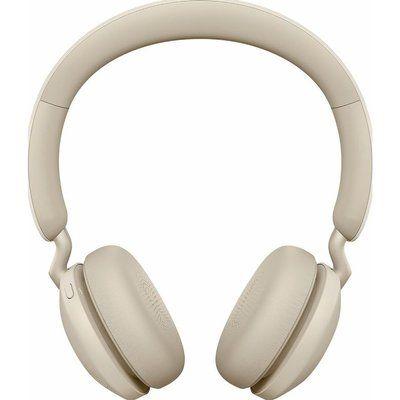 Jabra Elite 45h Wireless Bluetooth Headphones - Gold Beige